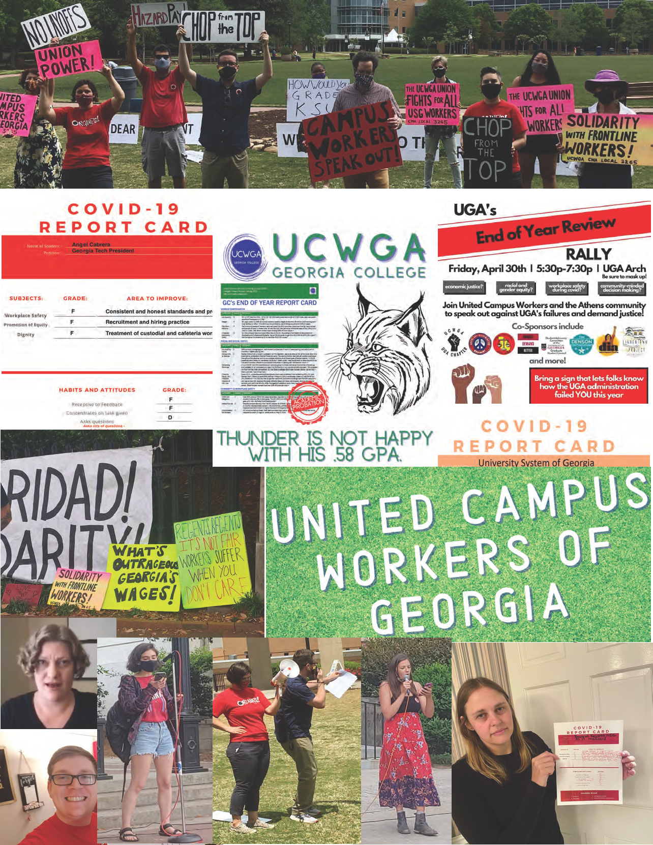 May Day Collage